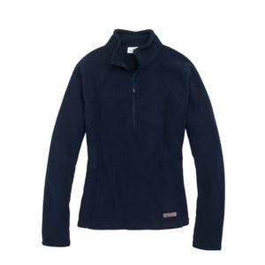 Vineyard Vines- Womens Gondola Navy Fleece-Size M
